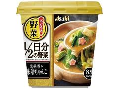 アサヒ おどろき野菜1/2日分の野菜 生姜香る味噌ちゃんこ