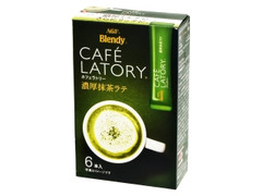 AGF ブレンディ カフェラトリー 濃厚抹茶ラテ 箱12g×6