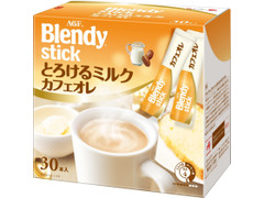 AGF ブレンディ スティック とろけるミルクカフェオレ