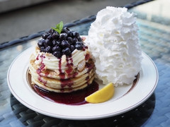 Eggs'n Things ブルーベリーレアチーズパンケーキ