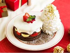 Eggs'n Things クリスマスショコラショートパンケーキ