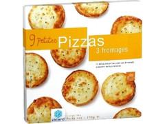 Picard 3種類のチーズのミニピッツァ