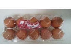 鳥幸 若鶏のたまご赤玉 パック10個