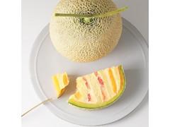 Cake.jp 販売1周年記念 まるごとメロンケーキ 赤肉バージョン