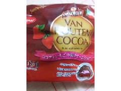ファミリーマート Sweets+ ココアといちごのWクリームシュー 袋1個