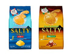 好評につき第二弾!【東ハト】「ソルティバター」と「ソルティ4種のナッツ」2種12点セット