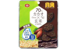 亀田製菓 カカオ×玄米