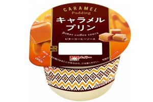 協同乳業 キャラメルプリン ビターコーヒーソース