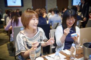 「澪」<DRY>×「MOW(モウ)クリームチーズ」試食