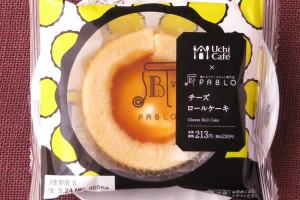 北海道産生クリームブレンドのチーズクリームにアプリコットジュレをトッピングした、PABLOチーズタルトをイメージしたロールケーキ。