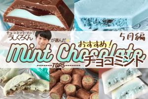 【5月編】チョコミントマニア「うしくろくん」が選ぶ!おすすめチョコミント5選!