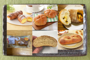 ローソン「クッキーデニッシュコロネ フロマージュ」、ローソン「モーニングオルジュ」、ローソン「マチノパン はちみつ×チーズ、たまにくるみ」