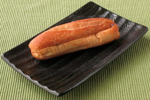 比較的短めの、楕円形をした小型フランスパン。