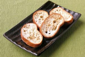 スライスされたフランスパンといった姿。
