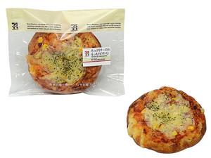セブンイレブン たっぷりチーズのもっちりピザパン