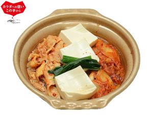 セブンイレブンー1/2日分の野菜!コク旨キムチ鍋