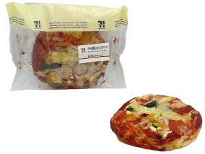 グリル野菜のもっちりピザパン セブン
