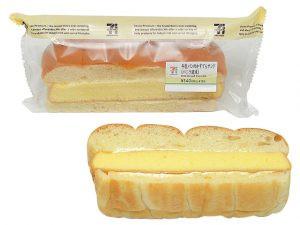 牛乳パンのかすてらサンド(バニラ風味) セブン