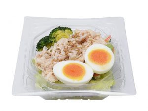 たんぱく質が摂れる!鶏むね肉サラダ セブン