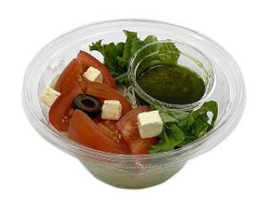 トマトとチーズのバジルパスタサラダ
