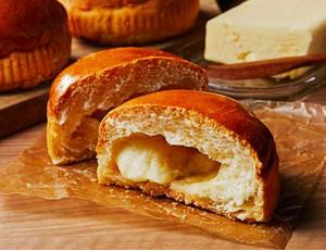 ローソン、塩バターメロンパン~ザクザク食感~