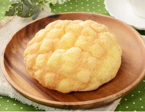 発酵バターが決め手ふんわりメロンパン