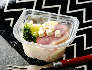 カップデリカ 合鴨とクリームチーズポテトサラダ