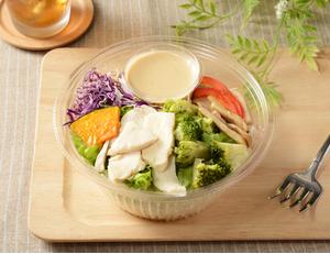 1食分の野菜 サラダチキンのパスタサラダ