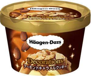 ハーゲンダッツ・アーモンドキャラメルクッキー