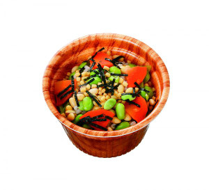 モチ麦スープ