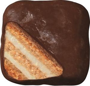ブルボン ザクビーチョコミント味