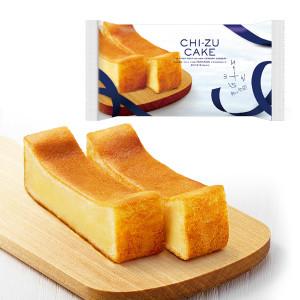 クリーム、ゴーダ、カマンベールの3種のチーズを贅沢に使用した、風味豊かなチーズケーキ。