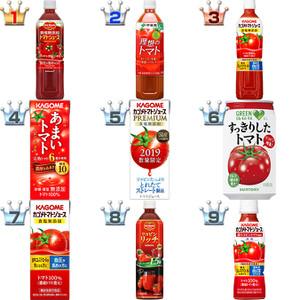 トマトジュースおすすめランキングBEST9!クチコミ人気1位が決定!