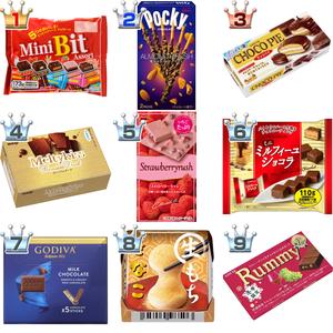 チョコレートおすすめ人気ランキングBEST10