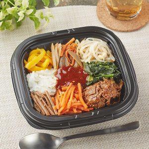 大豆のお肉!7種野菜のビビンバ丼 ファミマ