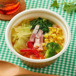 1/2日分の野菜が摂れるコンソメスープ ファミマ