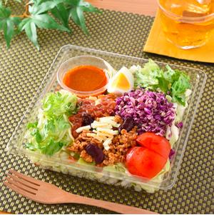 1/2日分野菜が摂れるタコライス風サラダランチ