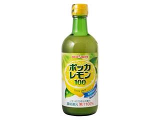 ポッカサッポロ ポッカレモン100 瓶450ml