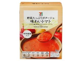 セブンプレミアム 野菜たっぷりポタージュ 味わいトマト 箱46.8g