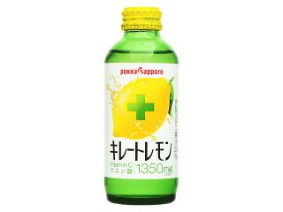 ポッカサッポロ キレートレモン 瓶155ml
