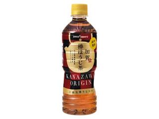 ポッカサッッポロ 旅茶列島 加賀棒ほうじ茶 ペット525ml