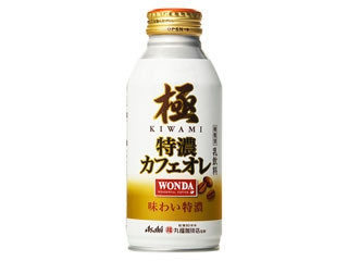 アサヒ ワンダ 極 特濃カフェオレ 丸福珈琲店監修 缶370g