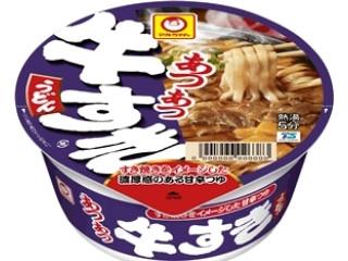 マルちゃん あつあつ牛すきうどん カップ102g