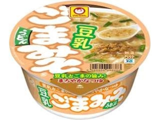 マルちゃん 豆乳ごまみそうどん カップ103g