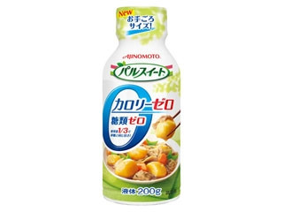 味の素 パルスイート カロリーゼロ 液体タイプ ペット200g