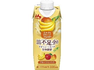 森永 ミルク&フルーツPLUS+ フルーツミックス 330ml