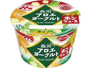 森永 アロエヨーグルト ポンジュース味 カップ118g