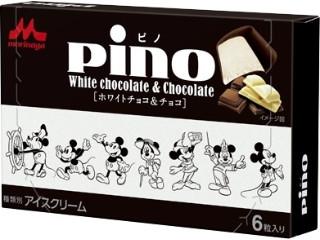 森永 ピノ ホワイトチョコ&チョコ ディズニーデザインパッケージ 箱10ml×6