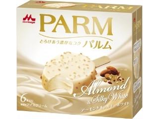 森永 PARM アーモンド&シルキーホワイト 箱58ml×6