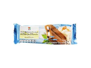 セブンプレミアム タピオカ風もち&ミルクソース入り ロイヤルミルクティーバー 袋80ml